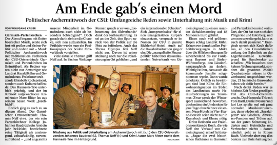 Marc Ritter Garmisch-Partenkirchner Tagblatt