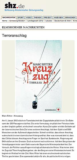 SHZ Kreuzzug Marc Ritter