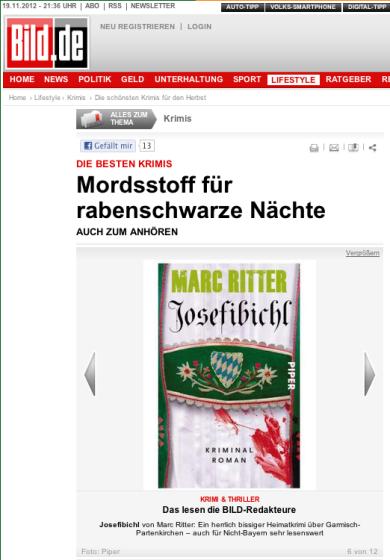 """""""Ein herrlich bissiger Heimatkrimi über Garmisch-Partenkirchen - auch für Nicht-Bayern sehr lesenswert"""