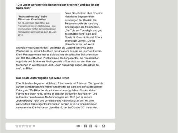 Marc Ritter - Bayerisches Fernsehen - Wir in Bayern