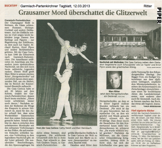 Marc Ritter - Garmisch-Partenkirchner Tagblatt