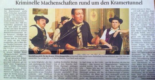 Marc Ritter Herrgottschrofen Garmisch-Partenkirchner Tagblatt